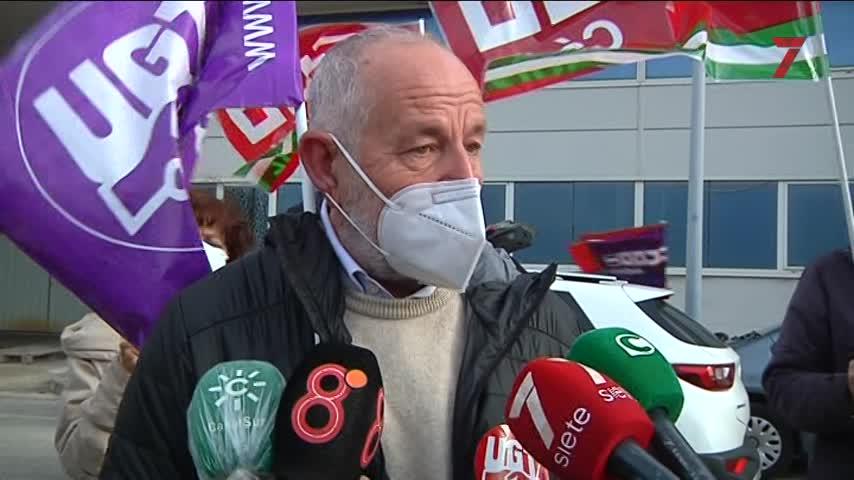 CCOOy UGT se movilizan en Cádiz bajo el lema 'Ahora sí toca'