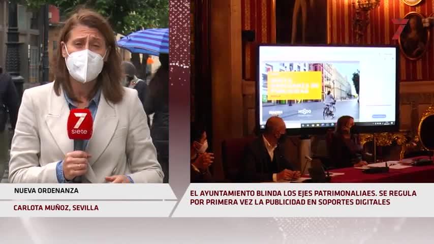 Puerta Jerez, Avenida, Santa Cruz y el Salvador, blindados por 'ley' ante la publicidad