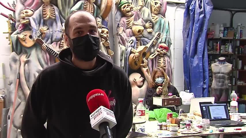 Artesanos del Carnaval lamentan la situación y perciben