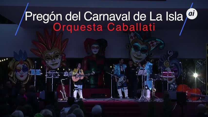 El pregón de los Caballati de 2016 que puso por primera vez la música por bandera