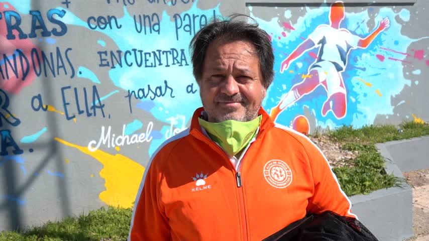 Emilio Aliaño, entrenador del Alma de África: