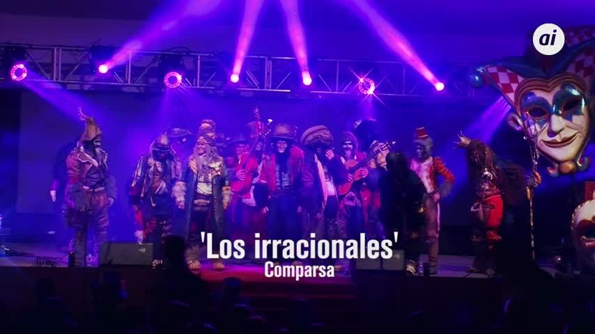 Actuación completa de Los irracionales pocas horas después de ganar el concurso del Falla