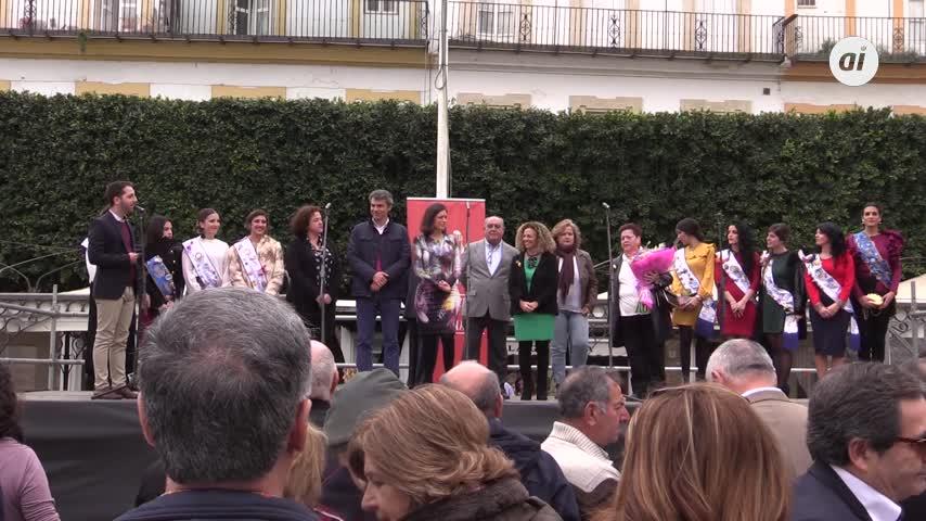 Chupinazo del Carnaval de 2017 en la plaza del Rey