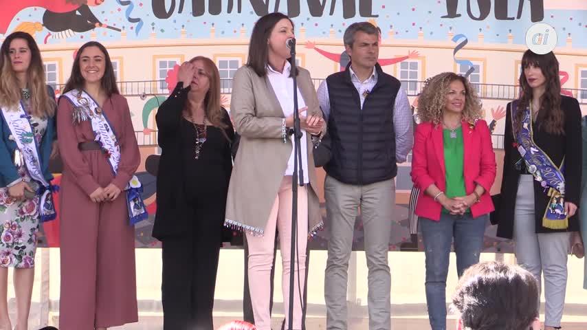 Chupinazo del Carnaval 2019 en la plaza del Rey