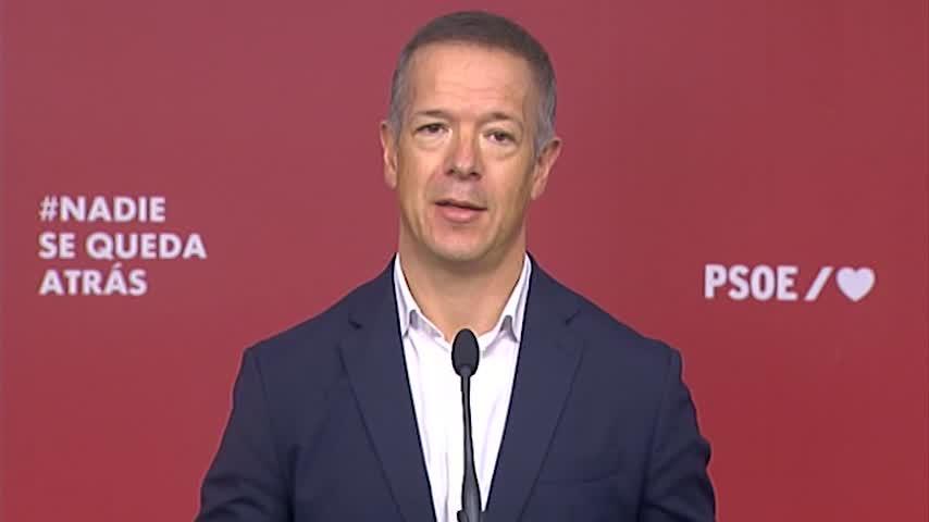 El PSOE urge al PP a desprenderse del