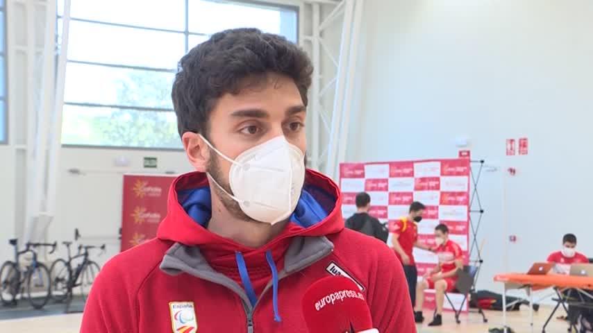 Las promesas paralímpicas se concentran para representar al ciclismo español