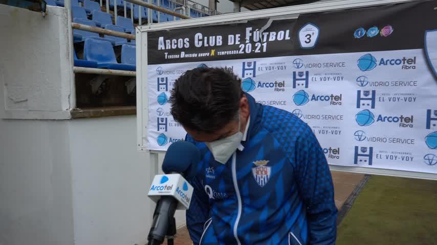 Bolli, entrenador del Arcos CF: