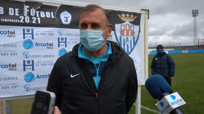 Asián, entrenador de la UB Lebrijana: