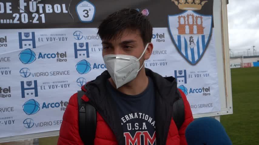 Cristian Ruiz, jugador del Arcos: