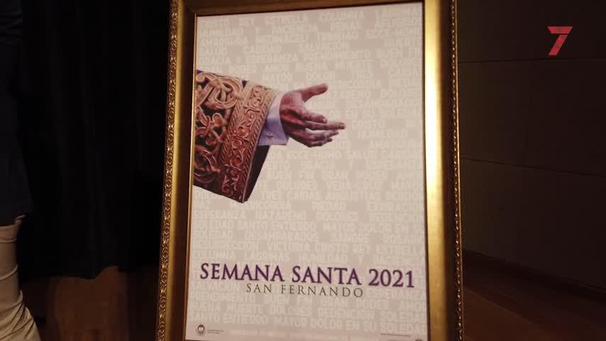 Presentado el cartel anunciador de la Semana Santa de San Fernando 2021