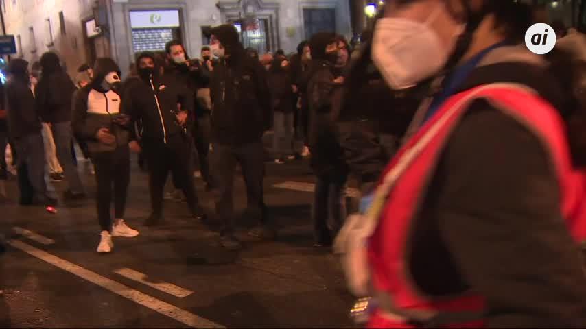 Nueva noche de protestas en Barcelona, Girona y Tarragona por Hasel