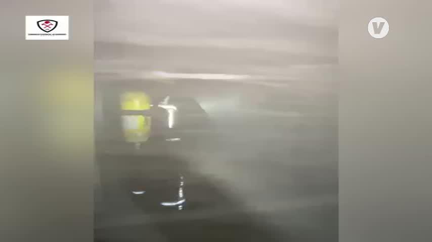 Extinguido un incendio en un cuadro eléctrico en una residencia de mayores de Estepona
