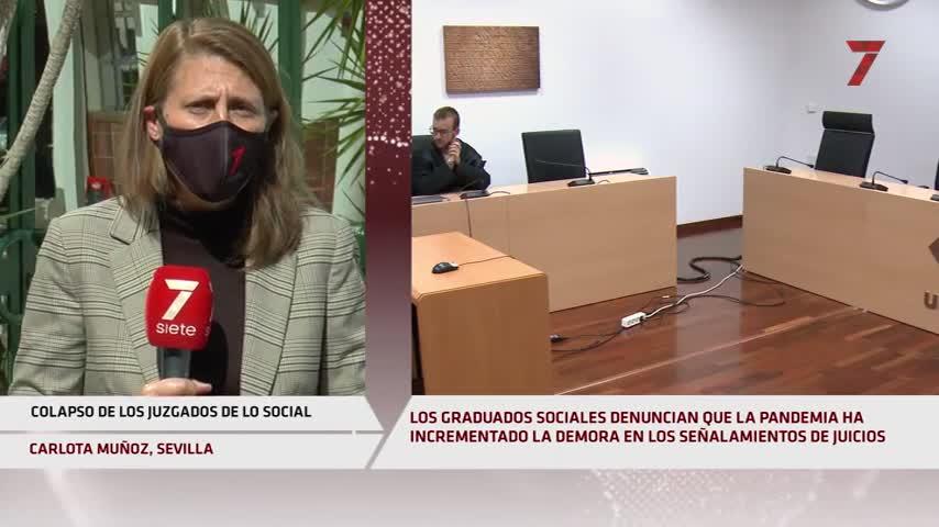 Juzgados de lo Social en Sevilla: dos años más de demora en los juicios por la pandemia