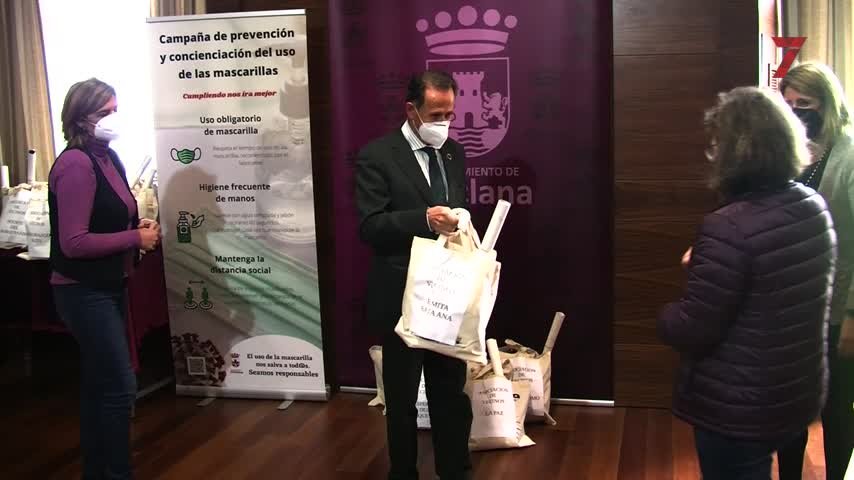 El Ayuntamiento de Chiclana entrega 4.600 mascarillas FFP2 a asociaciones de vecinos