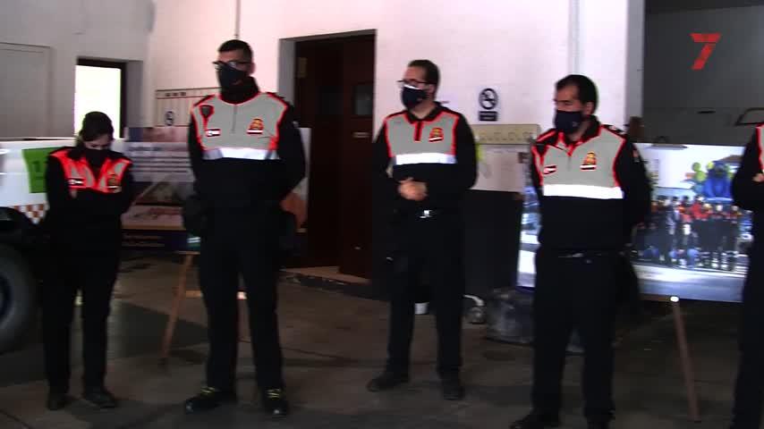 Protección Civil renueva su uniformidad e incorpora a once nuevos voluntarios