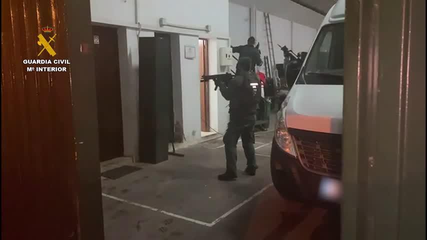 La Guardia Civil detiene a siete personas en dos operaciones contra el narcotráfico