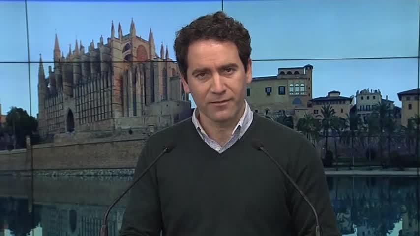 García Egea señala a la coalición PSOE-Podemos como la verdadera