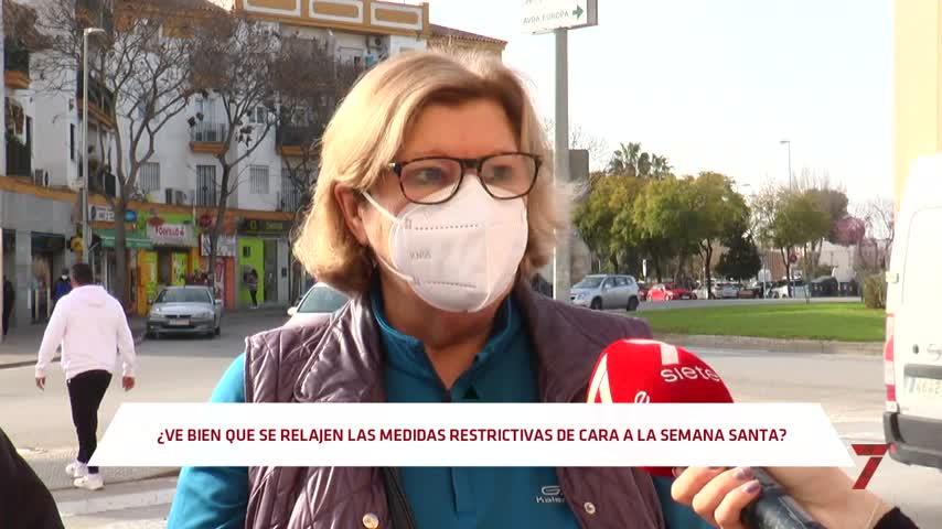 ¿Crees que habría que relajar las restricciones en Jerez durante Semana Santa?