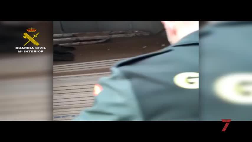Detenido en Los Barrios con más de 7.900 cajetillas de tabaco de contrabando