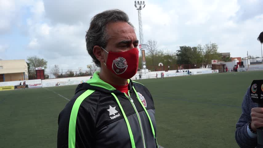 Rogelio Sánchez, míster del Cabecense: