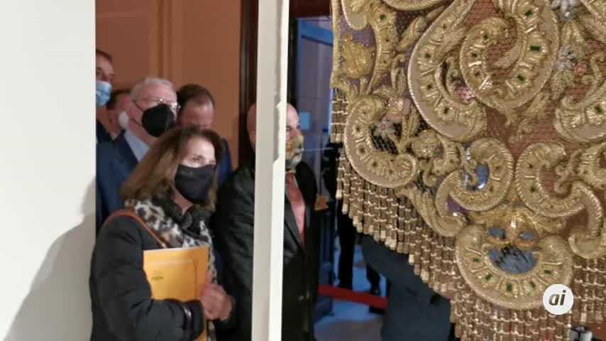 Abre el museo temporal de arte sacro en el Ayuntamiento de Sevilla