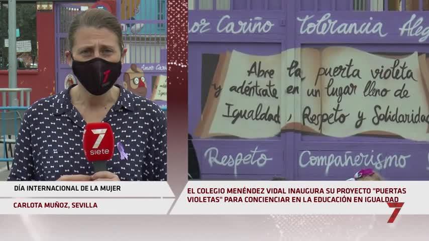 8M en Sevilla: la educación como puerta para la igualdad