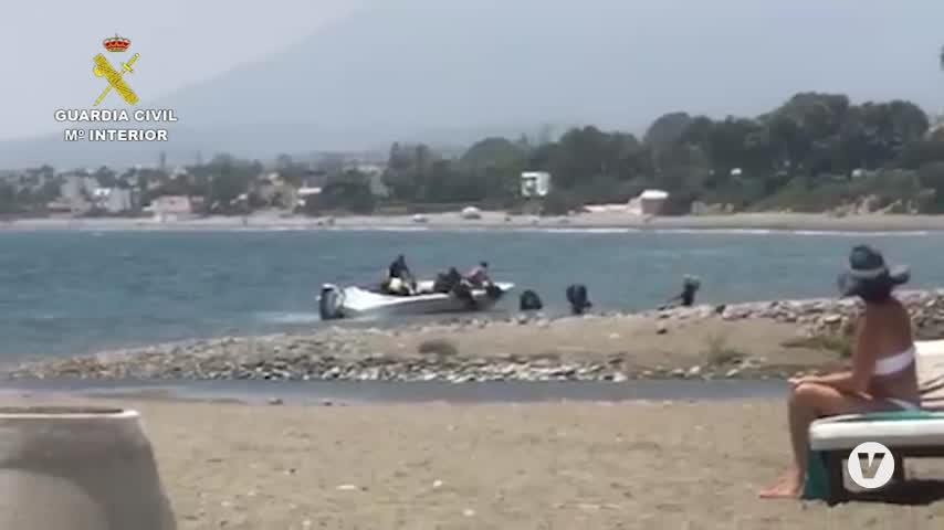 La Guardia Civil desarticula la red de narcotráfico de El Tapi, con 46 detenidos