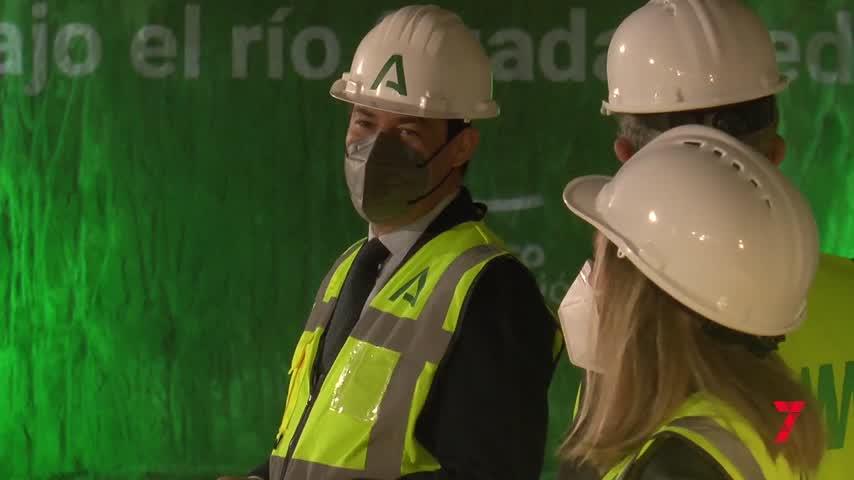 Moreno anuncia que la perforación de los túneles del metro concluirá antes de agosto