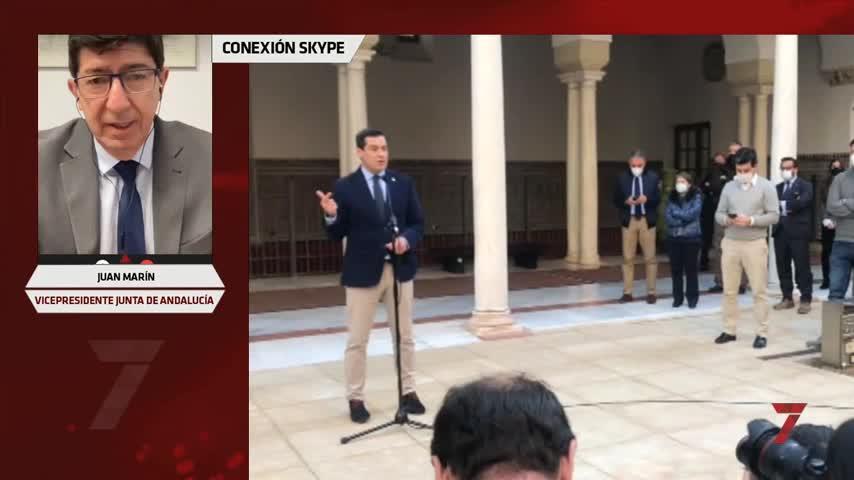 Juan Marín avisa:nadie desde Madrid impondrá el futuro de Andalucía