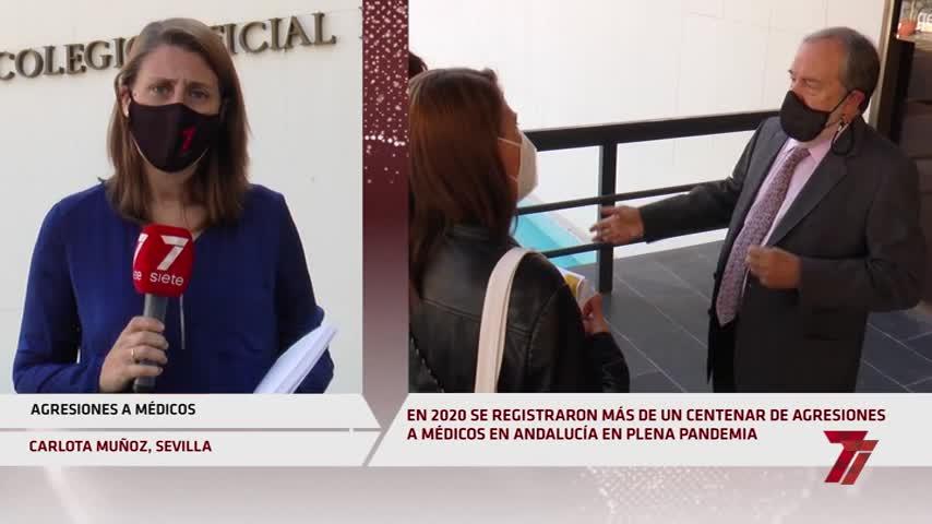 Agresiones a médicos:una veintena en Sevilla en pandemia y la mayoría en Atención Primaria
