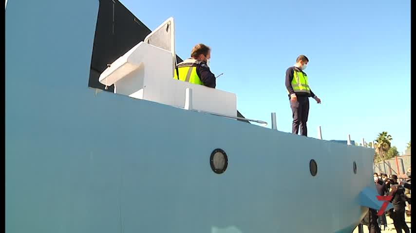 Intervenida por primera vez en España una embarcación semisumergible para el narcotráfico