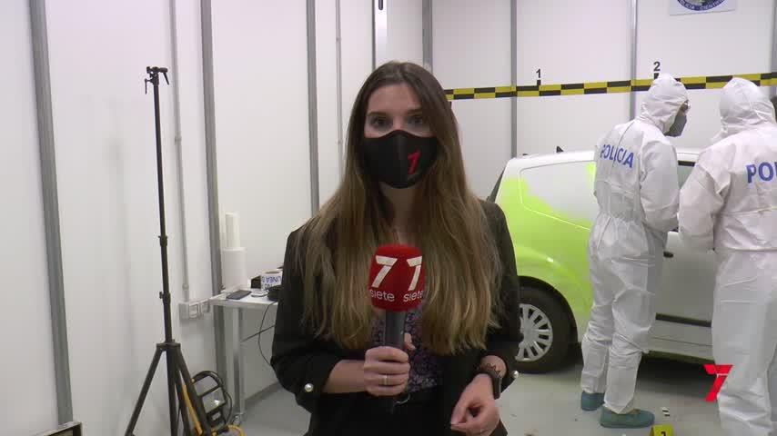 La Policía usa una técnica pionera para la búsqueda de evidencias forenses en Málaga