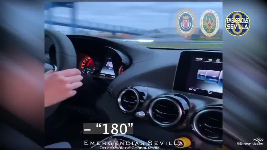 Investigan a una joven de 20 años por circular a 180 km/h en Sevilla y subirlo a Instagram