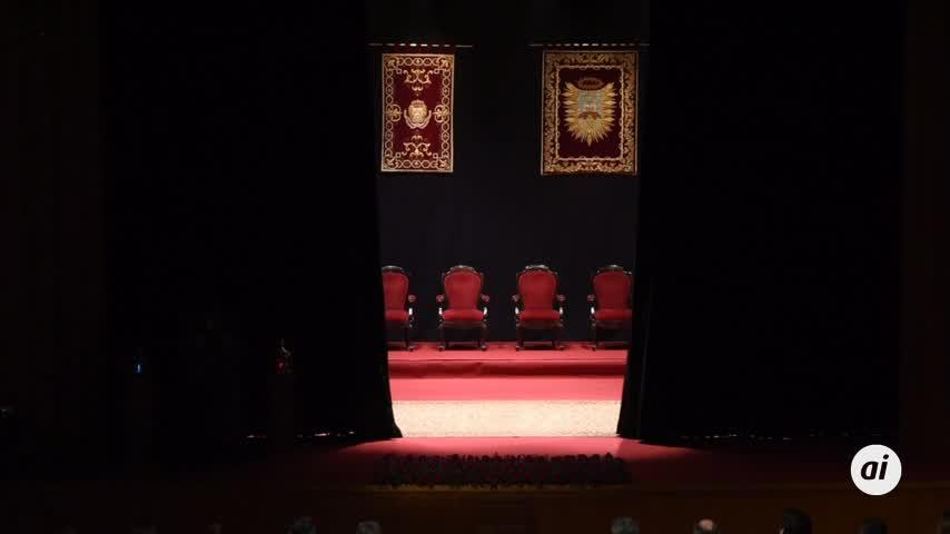 Desde el Teatro de las Cortes, pregón de Semana Santa de Juan José Castiñeiras en 2018