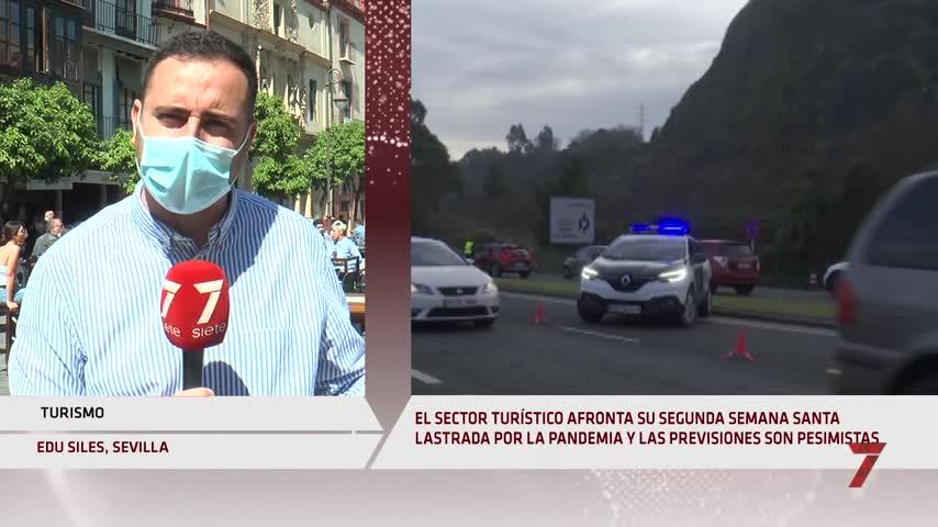 La ocupación hotelera en Andalucía será de un 15% durante la Semana Santa