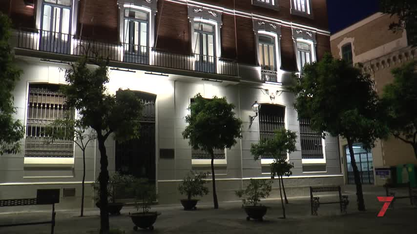 El centro histórico de Jerez ya alumbra el vino