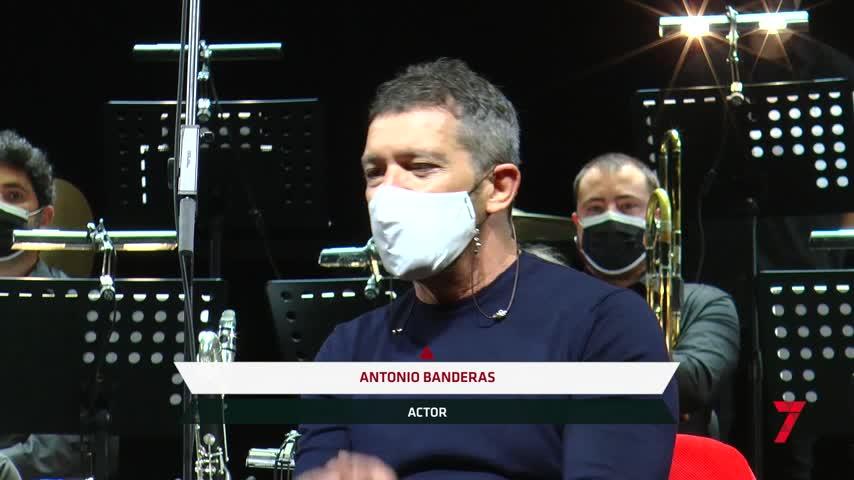Antonio Banderas, convencido de que podrá haber teatro al 75 % de aforo en octubre