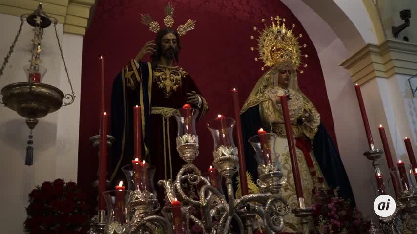 Un Domingo de Ramos excepcional vivido con intensidad desde el interior de los templos