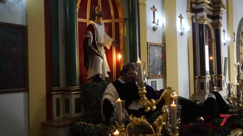 El Martes Santo se vive en el corazón de los fieles que no dejan de visitar los templos