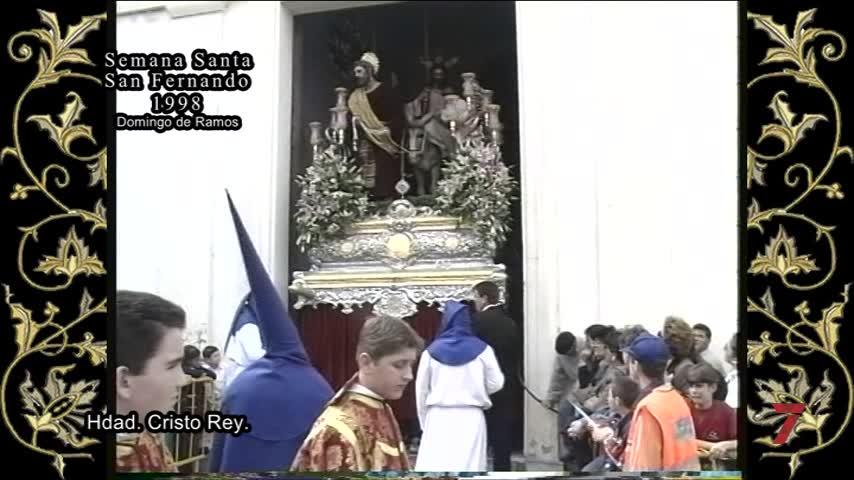 Semana Santa en el recuerdo: Un resumen de la Semana Mayor de San Fernando de 1998