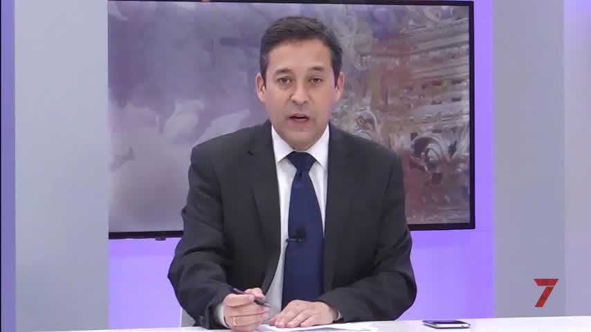 Especial de Luz de Pasión del Jueves Santo en 7 TV Jerez.