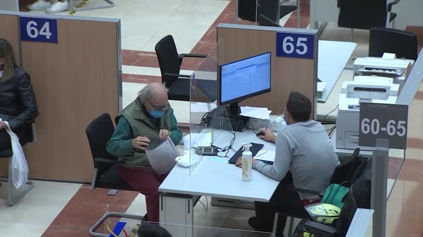 Hacienda permitirá a los afectados por un ERTE fraccionar el pago del IRPF en seis meses
