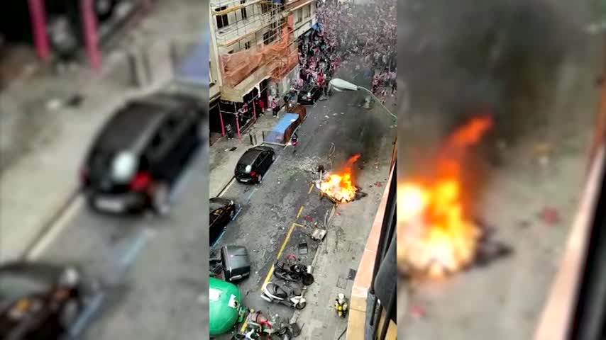 Incidentes en Bilbao antes de la final de la Copa del Rey