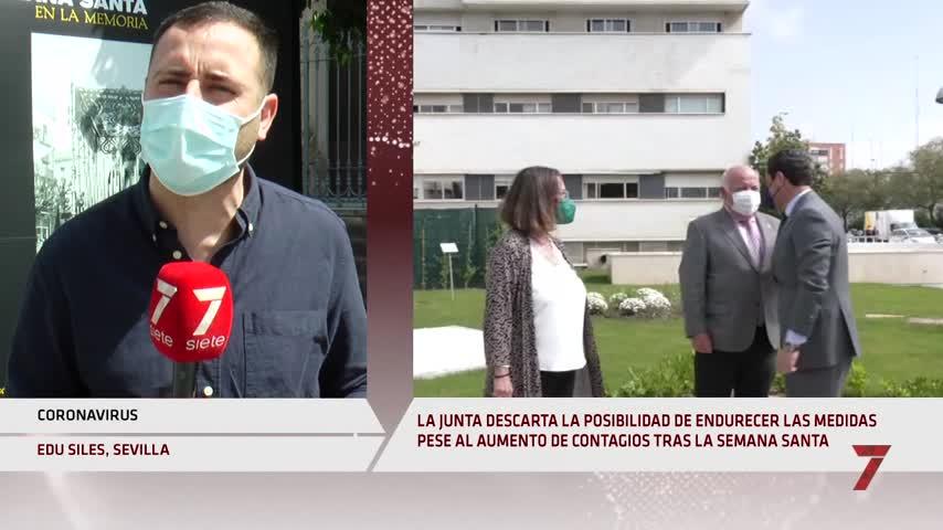 La Junta descarta la posibilidad de endurecer las medidas restrictivas en Andalucía