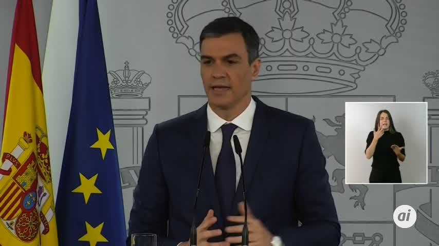 Sánchez quiere que el 9 de mayo sea el punto y final del estado de alarma