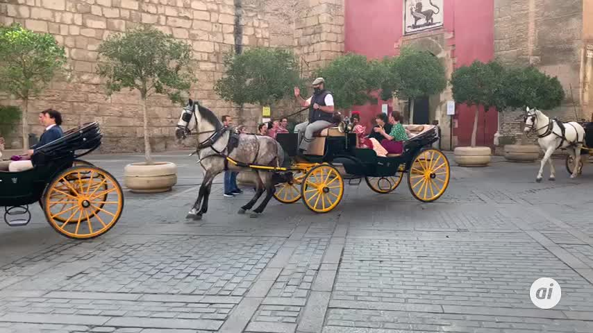 Las cocinas de Master Chef se instalan en el Patio de Banderas en Sevilla