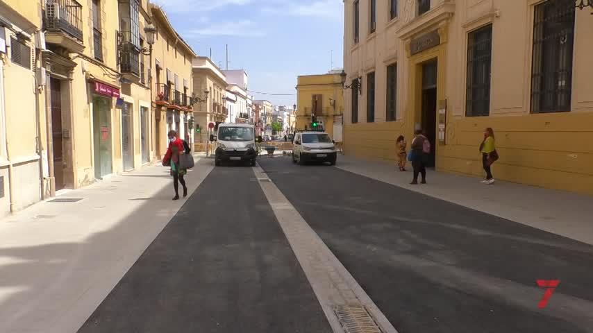 Finalizan en Jerez los trabajos de asfaltado del eje Corredera-Esteve