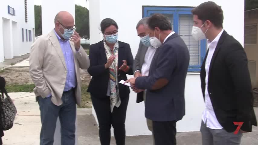 Andréu visita el IES La Pedrera Blanca tras su ampliación con seis aulas más
