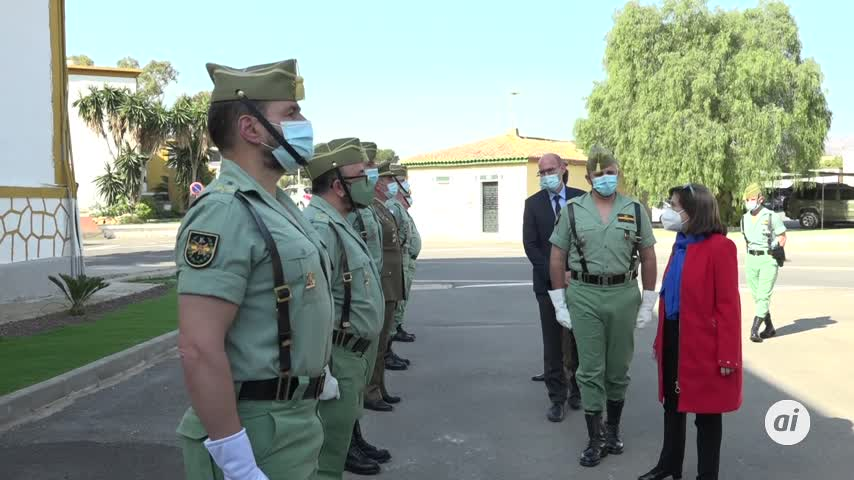 Robles: habrá 70.000 militares vacunados contra Covid al finalizar semana