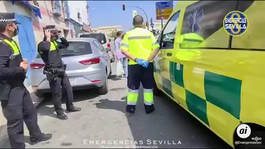 Una conductora novel resulta herida leve tras perder el control del coche